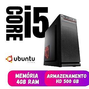 Cpu Star Core i5 4gb DDR3 Hd 500 - Linux - Oferta