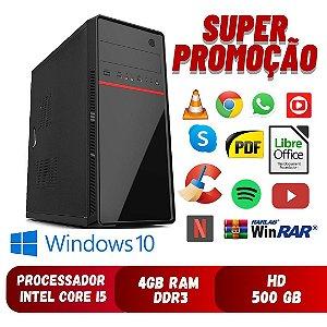 Pc I5 4gb Hd 500gb Windows 10,  Aproveite - Frete Gratis