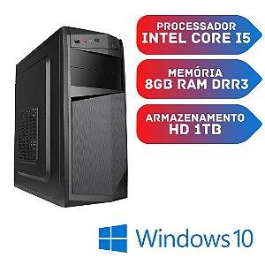 Cpu Core i5 8gb Hd 1tb Windows 10 Original  + Placa 1gb