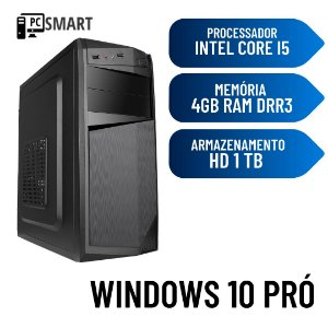 Computador Core i5 4gb Ram Hd 1TB Windows 10 - Programas