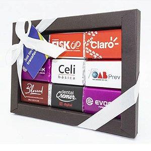 Caixa Luxo 9 Tabletes + Personalizada