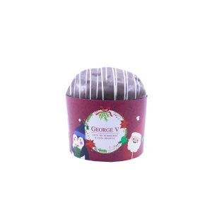 Mini Panetone ou Chocotone + Cinta personalizada 04 cores