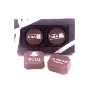 Caixa Luxo 2 Bombons Personalizados 01 Cor