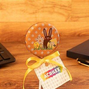Pirulito de chocolate + Tag personalizado