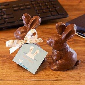 Coelhinho de chocolate + Tag personalizado