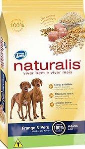 Ração Total Naturalis Frango & Peru para cães adultos