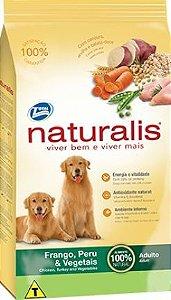 Ração Total Naturalis Frango Peru & Vegetais para cães adultos