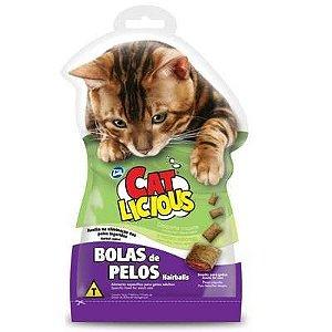 Petisco Total Cat Licious Bolas de Pelos Hair Balls 40g
