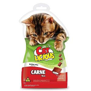 Petisco Total Cat Licious Carne 40g