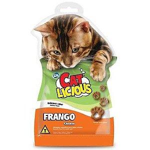 Petisco Total Cat Licious Frango 40g