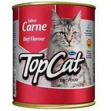 Top Cat Lata Carne