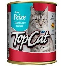 Top Cat Lata Peixe