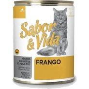 Sabor & Via Lata Gatos Frango