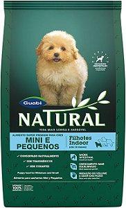 Natural Cães filhotes Indoor Mini e Pequenos
