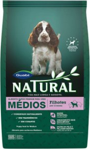 Natural Cães Filhotes Porte Médio