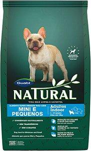Natural Cães Adultos Indoor Mini e Pequenos