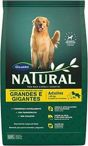 Natural Cães Adultos porte Grande e Gigante