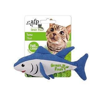 Atum em tecido com Catnip