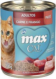 Max Cat gatos Pate Carne & Frango