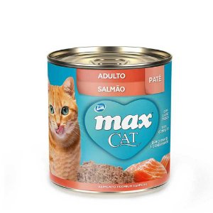 Max Cat Gatos Pate Salmão