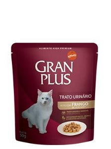 GRan Plus Sache Gatos Trato Urinário