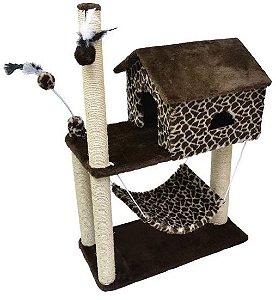 Arranhador House Rede Estampa Girafa