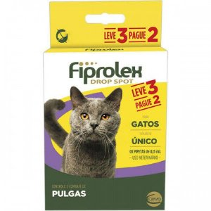 Fiprolex Drop Spot - Gatos