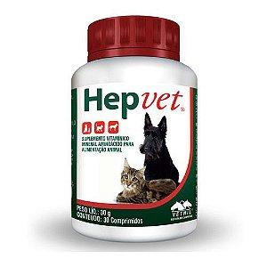 Suplemento Vetnil Hepvet Comprimidos - 30 gr