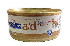 Ração Hills Canine Prescription Diet A/D Lata - 156gr