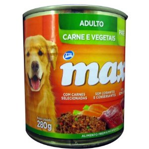 Pate Total Max Cães Adulto Carne e Vegetais