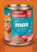 Kit Projeto Vida Animal 12 latas de patê Max Cat