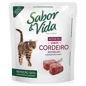 Sachê Sabor & Vida Gatos - Cordeiro