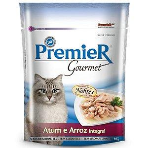 Sachê Premier Pet Gourmet Gatos Atum & Arroz Integral