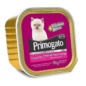 Pate Primogato Filhotes - Peru & Frango