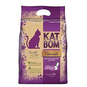 Granulado Sanitario Biodegradavel - Katbom 3 kg