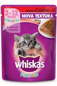 Ração Whiskas Sachê gatos filhotes