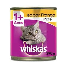 Kit PVA 12 patês whiskas frango
