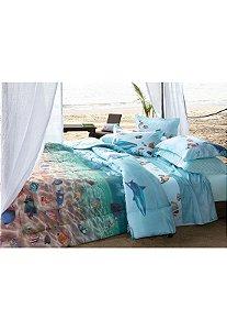 Jogo de cama Fundo do Mar
