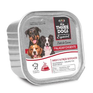 Three Dogs Pate Paladar Exigente