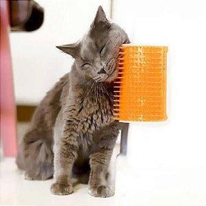 Escova massageadora de parede para gatos