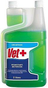 Desinfetante concentrado Vet +20 2 Litros Herbal