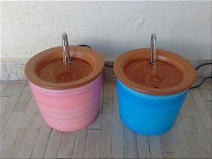 Fonte em cerâmica com pátina 2 litros