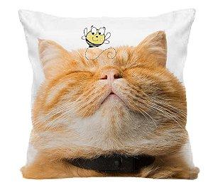 Capa de Almofada Gato Garfield Dupla Face