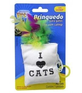 Almofada com Catnip para gatos
