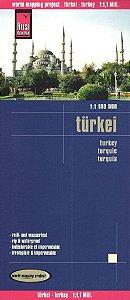 Mapa rodoviário da Turquia