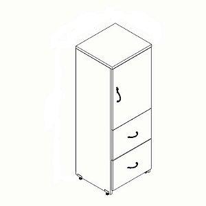 Armário 1 porta e 2 gaveta