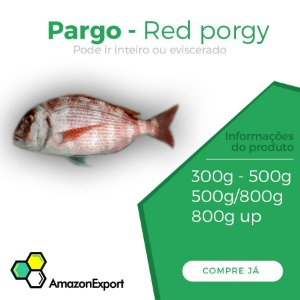 PARGO RED PORG Amazon Export