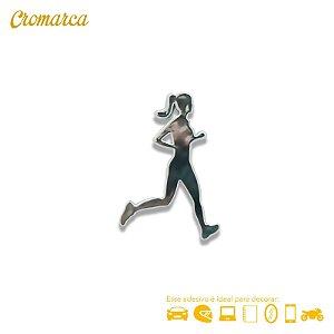 Adesivo CROMADO - Corredora
