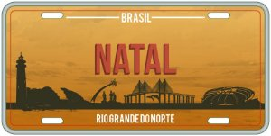 Placa Decorativa NATAL