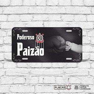 Placa Decorativa Corinthians  - Poderoso Paizão